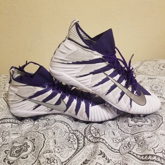 Nike Other - NIKE Alpha Menace Elite Flyknit TD Purple Size 15